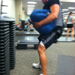 Photo taken at LA Fitness by John K. on 7/12/2012