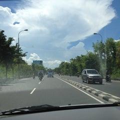 Photo taken at Jalan By Pass Ngurah Rai by Naadhu M. on 4/1/2012