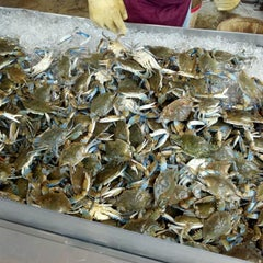 Photo taken at Maine Avenue Fish Market by Mary S. on 6/24/2012
