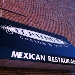 Photo taken at El Patron by Tony M. on 5/10/2012