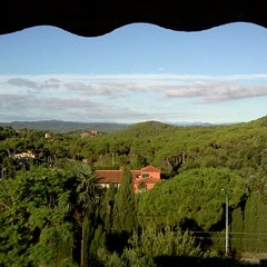 Photo taken at Galena Mas Comangau Hotel Begur by Marco M. on 9/19/2011