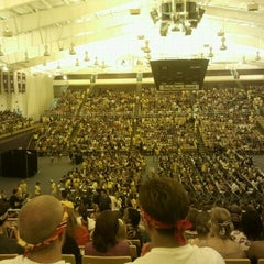Photo taken at Convocation Center by Morgan M. on 8/24/2011