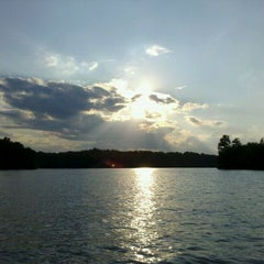 Photo taken at Lake Monticello by Dan O. on 8/12/2011