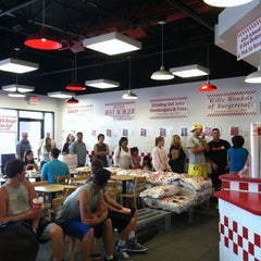 Photo taken at Five Guys by Keli K. on 8/21/2011