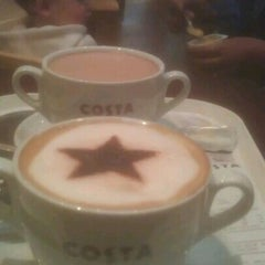 Photo taken at Costa Coffee by Khalish S. on 9/5/2012