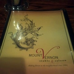 Photo taken at Mount Vernon Stable & Saloon by Caesar F. on 12/22/2011