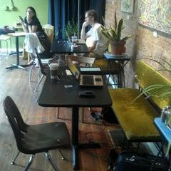 Photo taken at Sidewinder Coffee + Tea by Jeremy B. on 6/19/2012