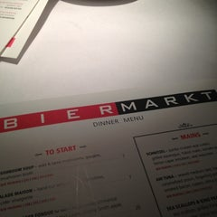 Photo taken at Bier Markt Esplanade by Bjorn R. on 4/1/2012