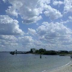 Photo taken at Davis Island Dog Park by Nadia C. on 3/16/2012