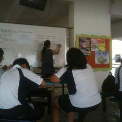 Photo taken at Assumption English School by Amer M. on 9/8/2011