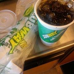 Photo taken at Subway by Chris C. on 6/6/2012