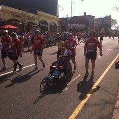 Photo taken at Marathon Monday 2012 by Jake R. on 4/16/2012