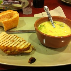Photo taken at Panera Bread by Mary F. on 3/8/2012