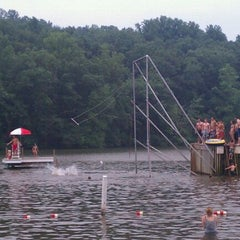 Photo taken at Mt. Gretna Lake & Beach by Connie S. on 8/13/2011
