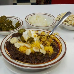 Photo taken at Real Chili by Dave H. on 1/3/2012