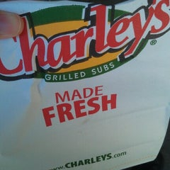 Photo taken at Charley's Grilled Subs by Steve on 7/26/2012