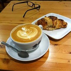 Photo taken at Manic Coffee by Jason C. on 2/18/2012