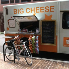 Photo taken at Big Cheese Truck by David B. on 2/10/2012