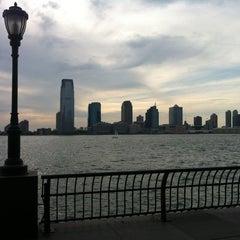 Photo taken at Hudson River Promenade by Marcela M. on 6/24/2012