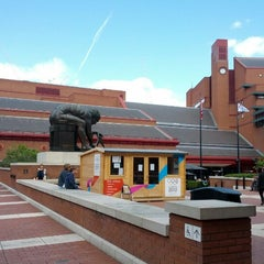 Photo taken at British Library by Anton H. on 8/31/2012