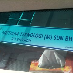 Photo taken at Mutiara Teknologi (M) Sdn Bhd by Sendow S. on 2/10/2011