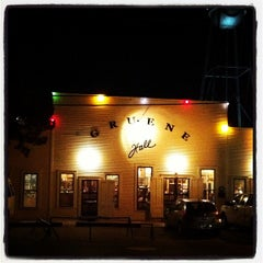Photo taken at Gruene Hall by Odin C. on 11/21/2011