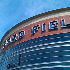 Photo taken at Ford Field by Andrea H. on 9/18/2011