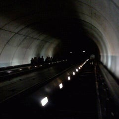 Photo taken at Friendship Heights Metro Station by Tinu A. on 9/22/2011