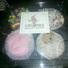 Photo taken at Crumbs Bake Shop by Dan N. on 10/31/2011