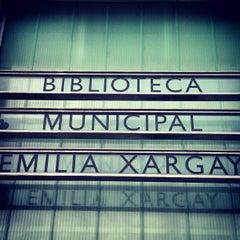 Photo taken at Biblioteca Municipal Emília Xargay by Roger C. on 4/27/2012