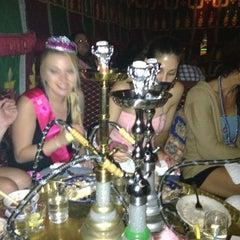 Photo taken at Fez Moroccan Restaurant by Kristen B. on 8/12/2012