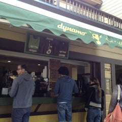 Photo taken at Dynamo Donut & Coffee by Kayla L. on 4/8/2012
