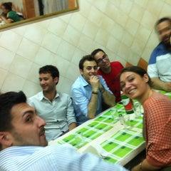 Photo taken at Antica Pizzeria Prigiobbo by Antonio P. on 6/6/2012