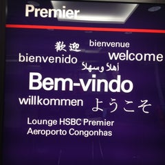 Photo taken at Lounge HSBC Premier by Lilian A. on 5/5/2012