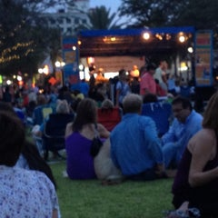Photo taken at Clematis by Night by Stacia W. on 7/13/2012