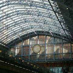 Photo taken at London St Pancras Eurostar Terminal by Rob G. on 9/5/2012