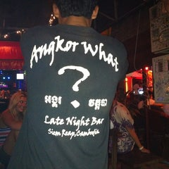 Photo taken at Angkor What? Bar by Jun P. on 6/7/2012