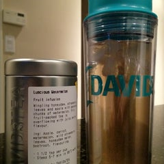 Photo taken at DAVIDsTEA by Andy G. on 7/13/2012