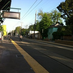 Photo taken at SACRT Light Rail 16th St Station by Terry D. on 5/5/2012