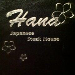 Photo taken at Hana Japanese Steakhouse and Sushi Bar by Emily B. on 8/25/2012