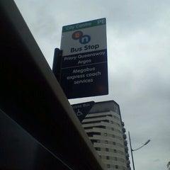Photo taken at Megabus Birmingham City Centre Stop SH8 & SH9 by Mark B. on 6/12/2012