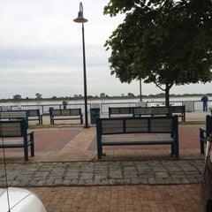 Photo taken at Canarsie Pier by Priscilla a. on 8/19/2012