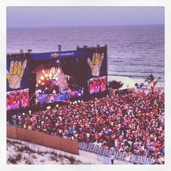 Photo taken at Chevrolet Stage at Hangout Music Fest by Peter G. on 5/21/2012
