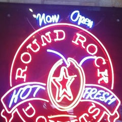 Photo taken at Round Rock Donuts by Stephen G. on 7/24/2012