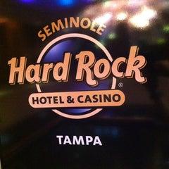 Photo taken at Seminole Hard Rock Hotel & Casino by Fanny L. on 8/26/2012