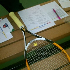 Photo taken at Tennis Courts by Kwame A. on 4/25/2012