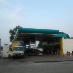 Photo taken at Petronas by hasrol n. on 9/2/2012
