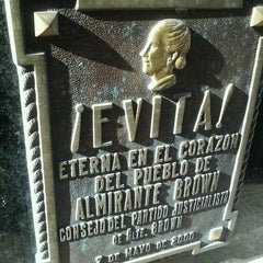Photo taken at Eva Peron's Grave by Lucas B. on 6/7/2012