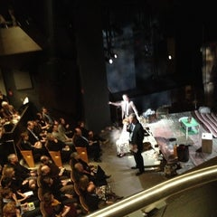 Photo taken at Pershing Square Signature Theater by Stephen C. on 2/1/2012