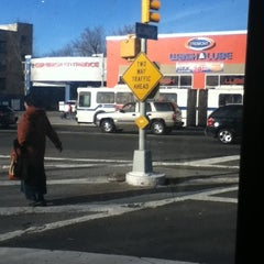 Photo taken at MTA - Q44 Bus Stop by Shelly G. on 1/20/2012